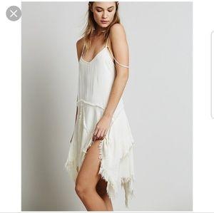 Free people tattered slip dress